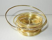 Filo alluminio colore giallo 10 metri