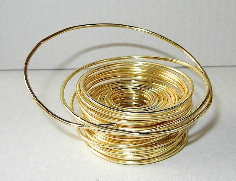 Filo alluminio colore giallo 10 metri materiali for Oggetti di colore giallo
