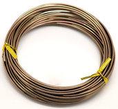 10 metri filo in alluminio  caffè scuro 1,5 mm per wire scontato x 2 gg poi  giorni