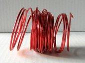 Filo alluminio colorato rosso 10 metri