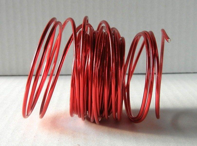 Filo alluminio colorato rosso 10 metri - Materiali - Bigiotteria - ...  su MissHobby