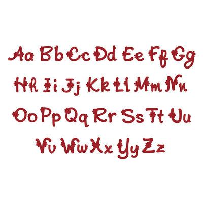 208 lettere Alfabeto fustellato