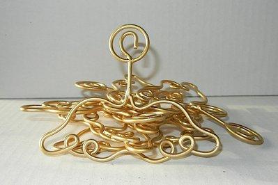 Ali aureola piccole ferro colore oro