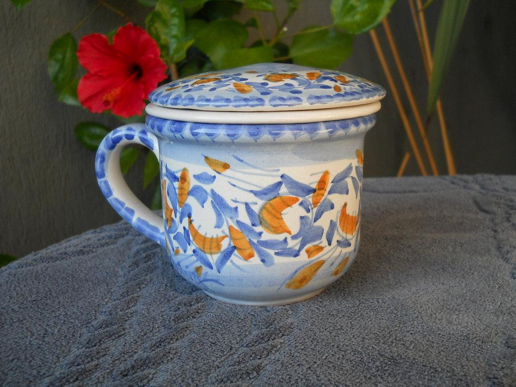 Tazza tisaniera in ceramica