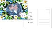 Grazie - cartolina ringraziamenti - Matrimonio