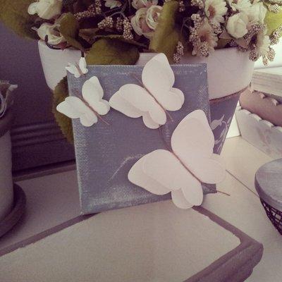 Tela farfalla