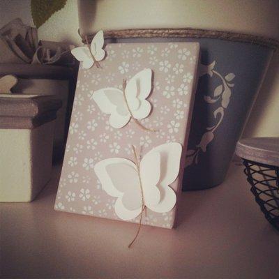 tela farfalle