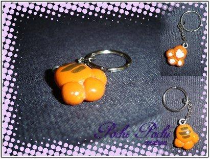 Zampa Gatto Arancione