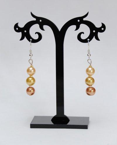 Orecchini Perle d'oro