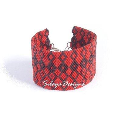 Bracciale polsino Oriente - collezione Ethno Chic