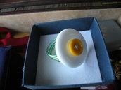 anello uovo all'occhio di bue