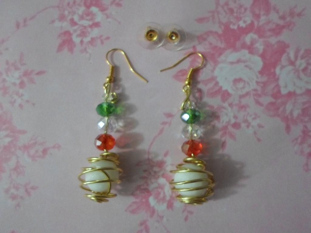 orecchini fatti a mano idea regalo,economico,per bambini,offerta sp'eciale,special price