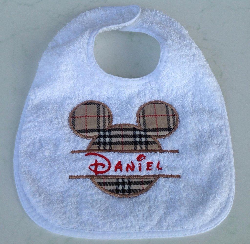 Bavaglia personalizzata con nome - Mod. Daniel