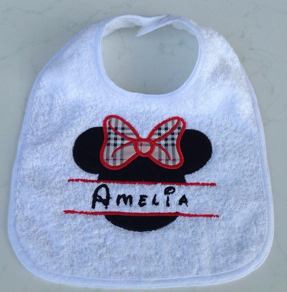 Bavaglia personalizzata con nome - Mod. Amelia