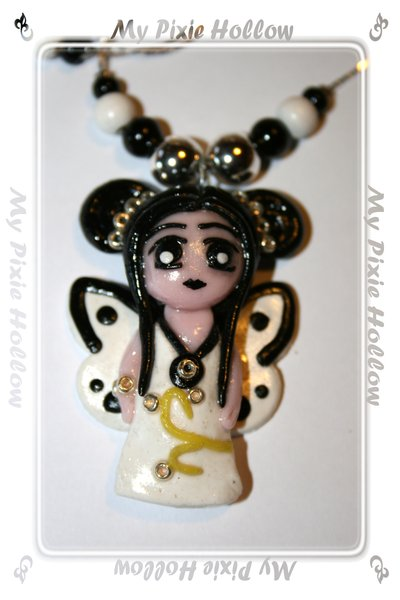 Collana Doll Farfalla Bianca