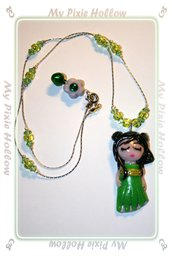Collana Green Doll