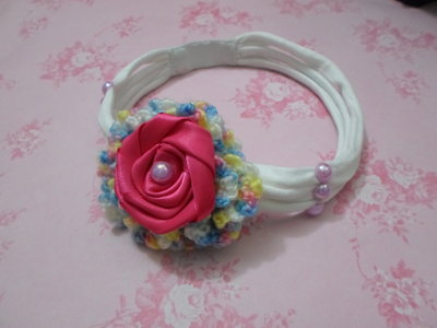 fermacapelli fatto a mano con fiore ad uncinetto,idea regalo,gift idea