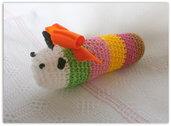 Bruchetto multicolor con sonaglio