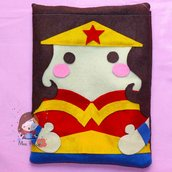"""Cover per tablet in pannolenci """"Wonder Woman"""""""