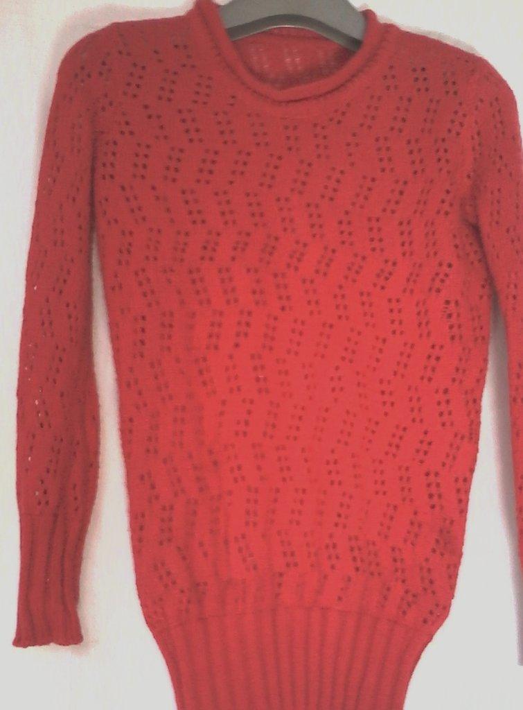 golf bimba cotone maglia lana