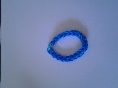 Braccialetto azzurro e blu