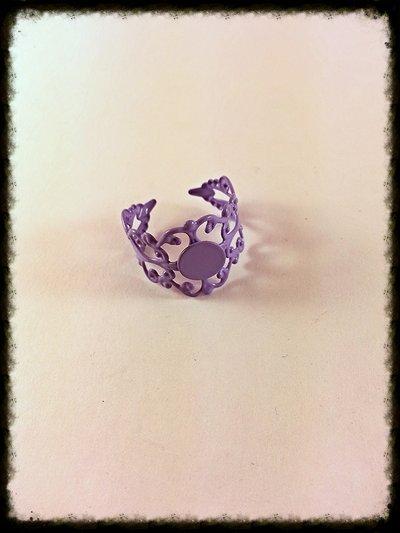 Base anello lilla