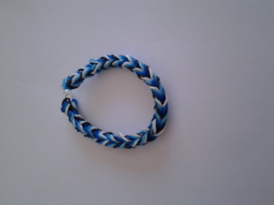 Braccialetto di elastici Blue Navy