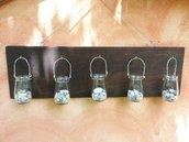 """Porta candele """"Cottage Style"""""""