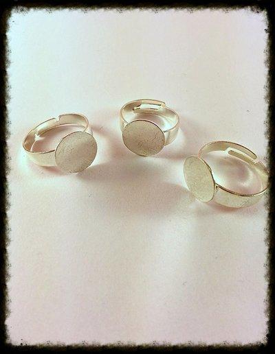 Base anello con piastra 10mm
