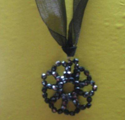 Collana gothic flower