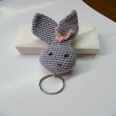 portachiavi coniglio