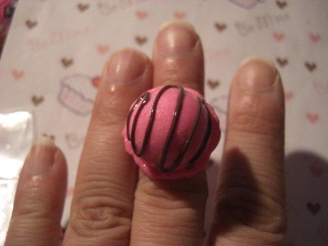 anello gelato fragola
