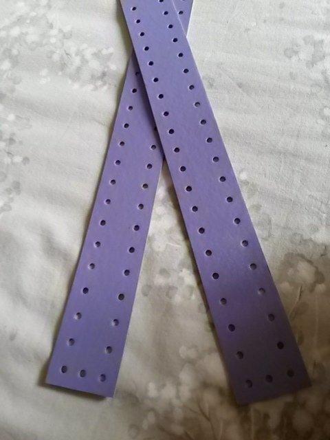 Striscia fustellata violetto