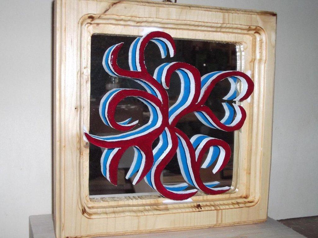 Specchio per la casa e per te arredamento di fantasia di legn su misshobby - Specchio per te ...