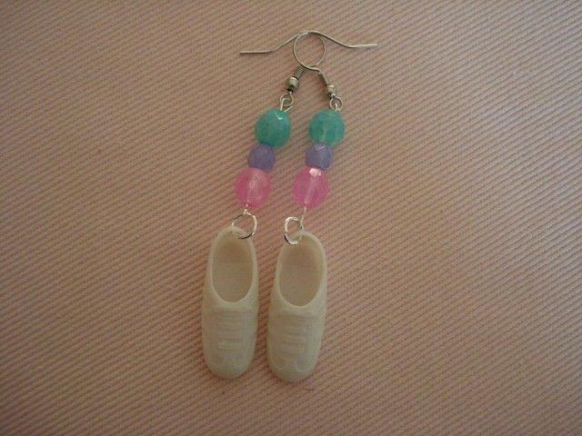 Orecchini con scarpe Barbie