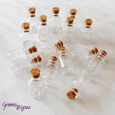Bottiglietta piccola in vetro 13x23