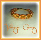 Bracciale Orange/Red