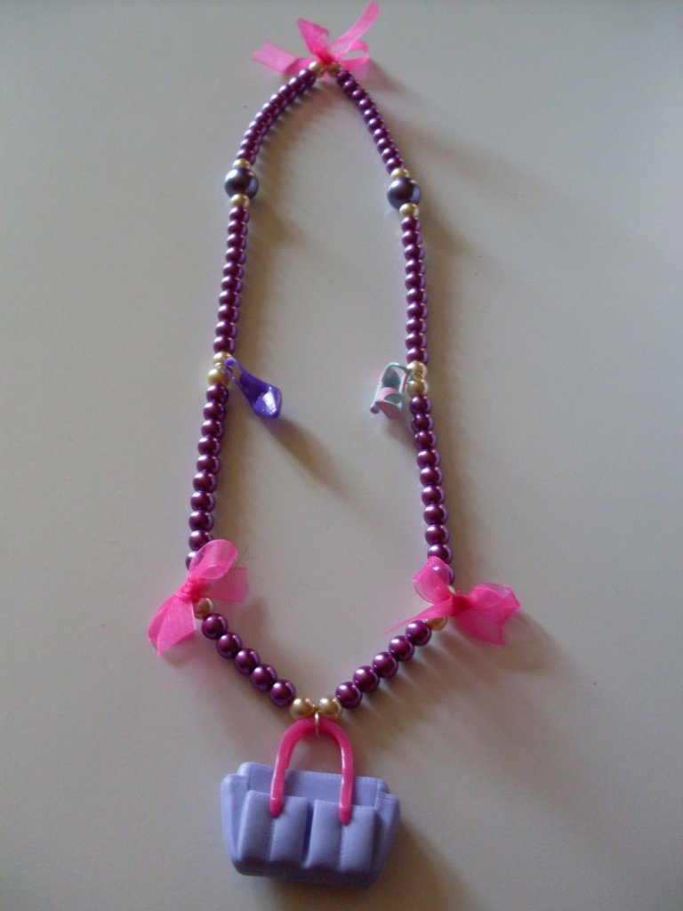 Collana Barbie Bag