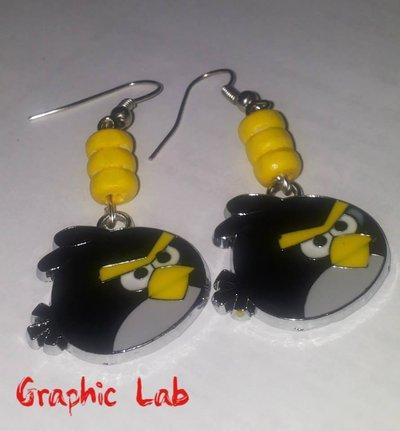 Orecchini Uccellini Angry Birds Rovio