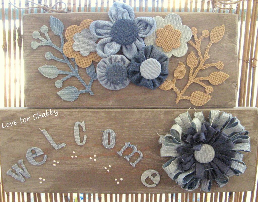 Welcome con i fiori...