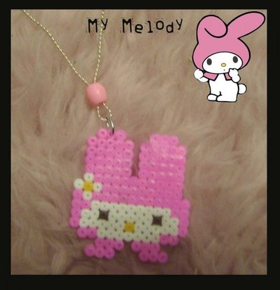 Collana my melody in pyssla