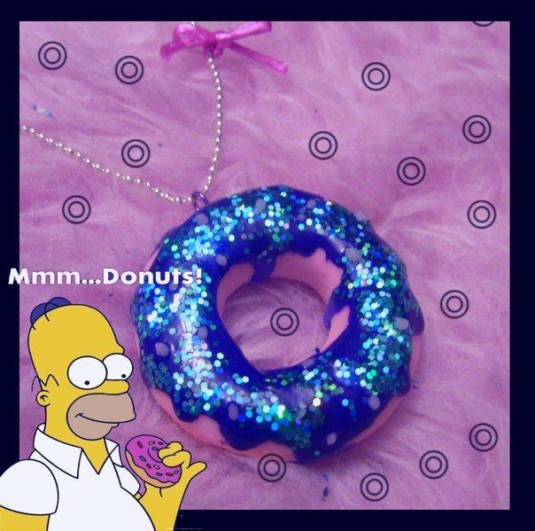 Collana donuts ciambella
