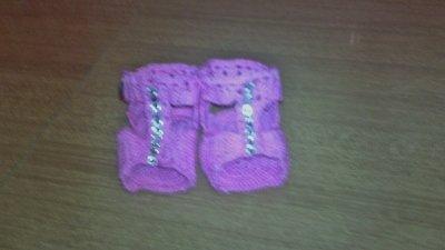 sandali per neonata