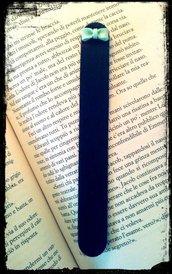 Segna libro in Fimo Fiocco