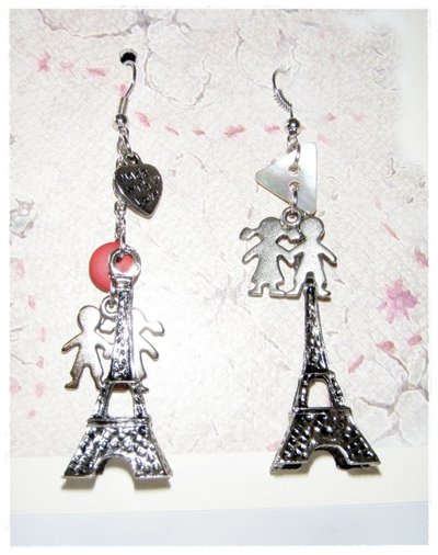 "orecchini ""Love Paris"""