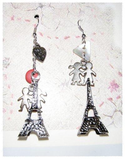 """orecchini """"Love Paris"""""""
