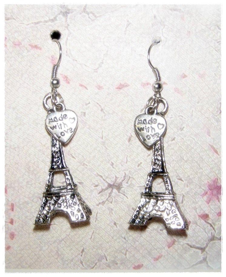 """orecchini """"Paris with love"""""""