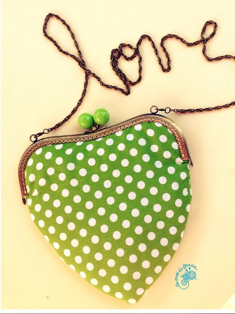 Borsetta forma cuore