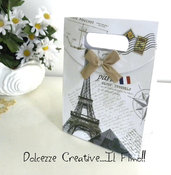 Confezione Regalo MAXI PARIS per gioielli. Bacciali, orecchii, cover ecc SOLO PER CLIENTI DELLO SHOP