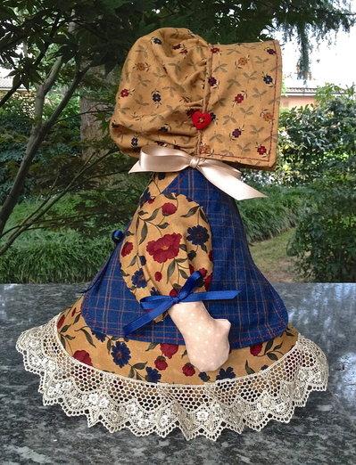 Ferma porta bambolina Laura